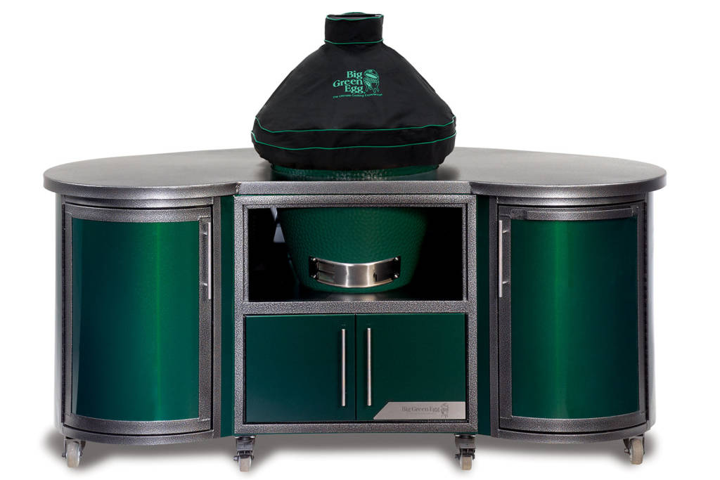 Big Green Egg Chef Island with Cover
